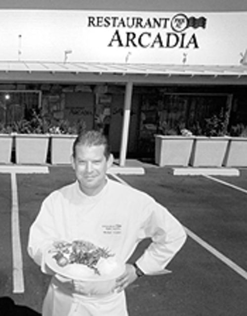 Chef Michael Hoobler has found a new home at Restaurant Arcadia.