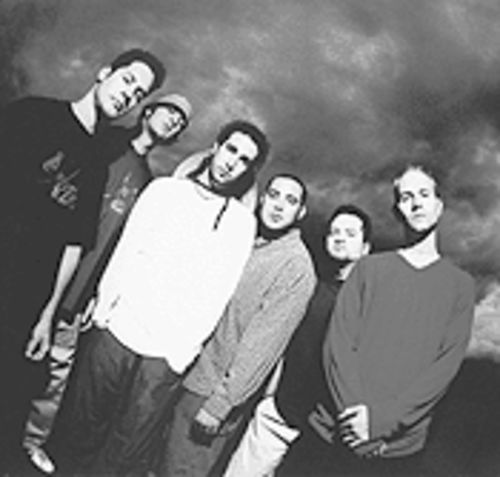 Dislocated Styles: From left, Chuck Epperly, Jason Dubree, Brandon Lawson, Greg Forney, Clancy McCarthy and Joe Boogie.