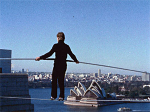Skywalker: Philippe Petit defies death on a tightrope in the documentary Man on Wire.
