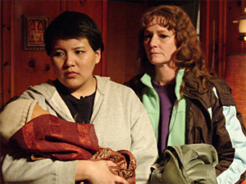 Desperate lives: Misty Upham and Melissa Leo leap into the world of smuggling immigrants in Frozen River.