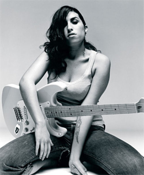 Amy Winehouse: A dirty job, but someone's got to do it.