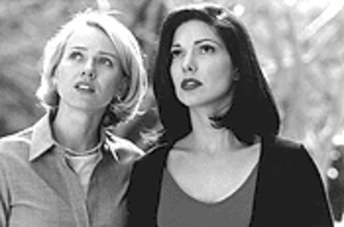 Lovely Rita, meta maid: Naomi Watts, left, and Laura Elena Harring stumble and tumble through a Lynched-up Los Angeles.