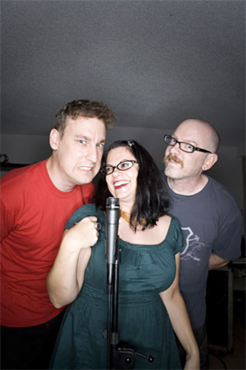 The three provocateurs (left to right): Pete Hinz, Dana Stern, and Jeff Barthold