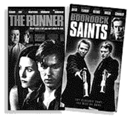 Diamonds amid the coal:  The Runner and Boondock Saints are among the best of the rest rescued by  DEJ Productions.