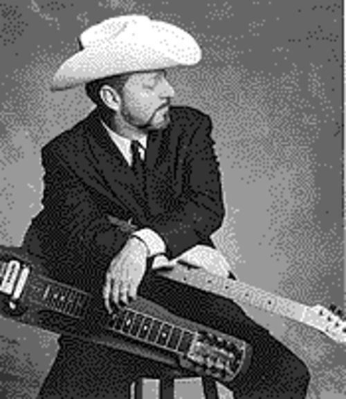 Junior Brown: His patented guit-steel is a metaphor for his schizoid musical roots.