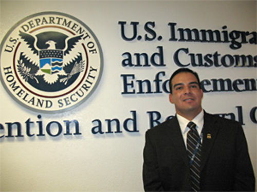 Jon Gurule, ICE Detention and Removal Operations deputy field office di rector.