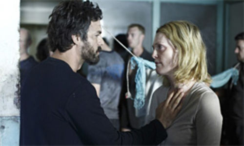 Whiteout: Mark Ruffalo and Julianne Moore cope in a sightless world in Blindness.