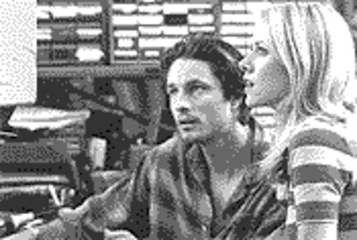 Tape worms: Martin Henderson and Naomi Watts in The Ring.