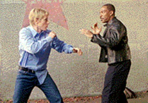 Dynamic duo: Owen Wilson and Eddie Murphy square off in I-Spy.