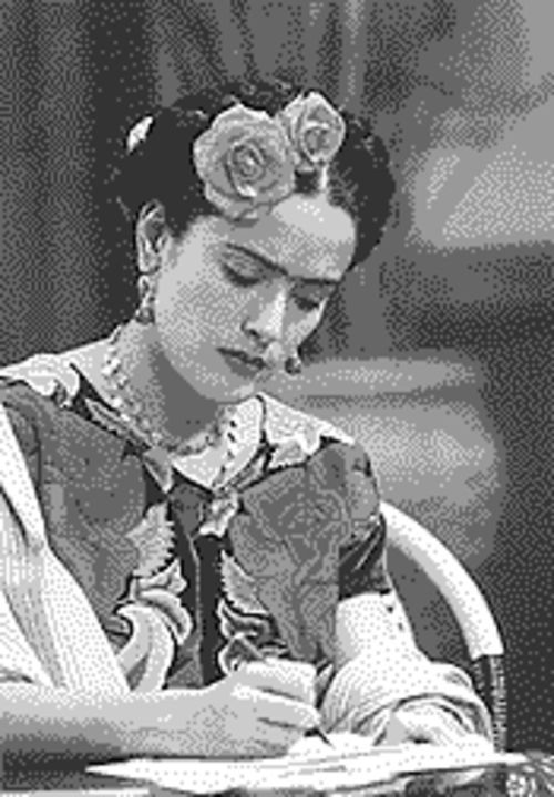 Portrait of a lady: Salma Hayek in Frida.