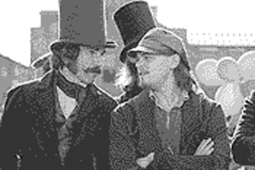 Gang mentality: Daniel Day-Lewis and Leonardo DiCaprio in Gangs of New York.