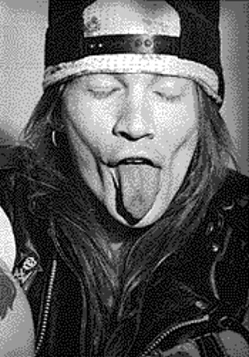 Now cough: Axl's wank project crawls into 2003.