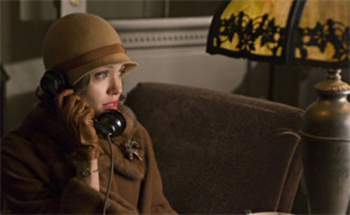 Always simmering: Angelina Jolie is miscast but good in Clint Eastwood's Changeling.