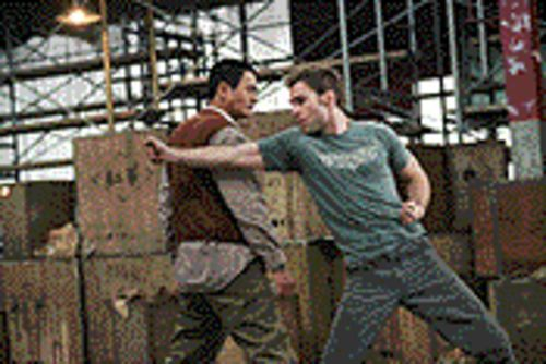 Chow, baby: Chow Yun-Fat shows Seann William Scott some nifty moves in Bulletproof Monk.