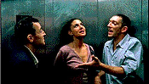 End game: Albert Dupontel, Monica Bellucci and Vincent Cassel deal with a brutal attack in Irréversible.