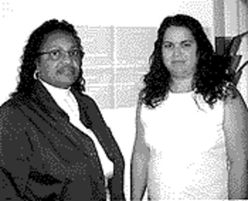 Specialist Pam Siller (left), with her colleague Marisela Gonzalez.
