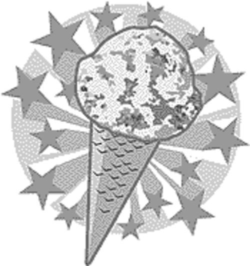 I scream, you scream: Scoops invites all screamers to come in and enjoy some ice cream.