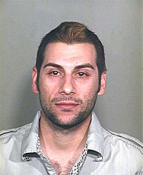 The Dirty's Hooman Karamian, a.k.a. Nik Richie, in his DUI mug shot from earlier this year.
