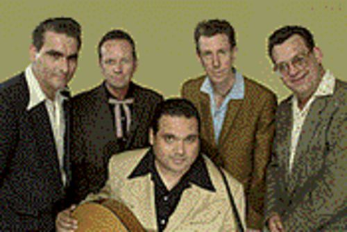 More musically inclined than the Fonz: Big Sandy & His Fly-Rite Boys.