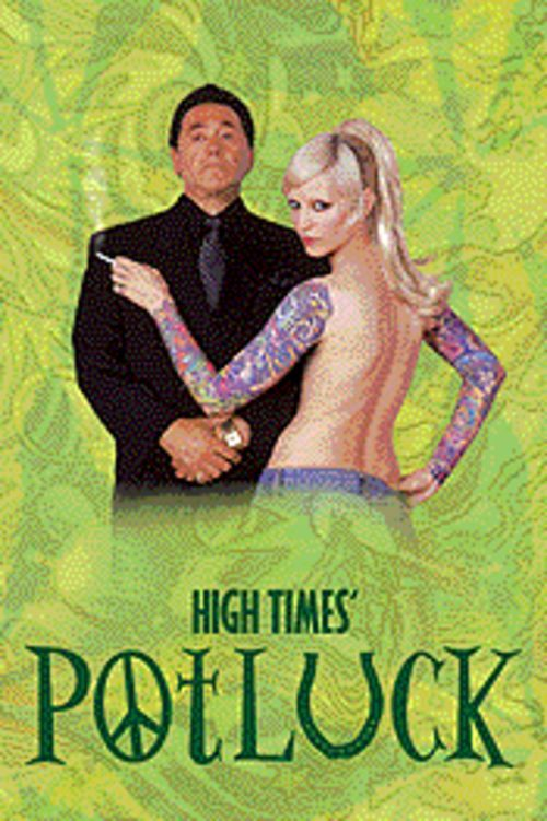 Powder puff: Frank Adonis and Theo Kogan star in High Times' Potluck.