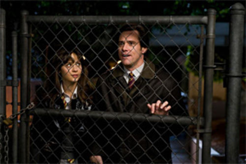 No way: Jim Carrey and Zooey Deschanel star in Yes Man.