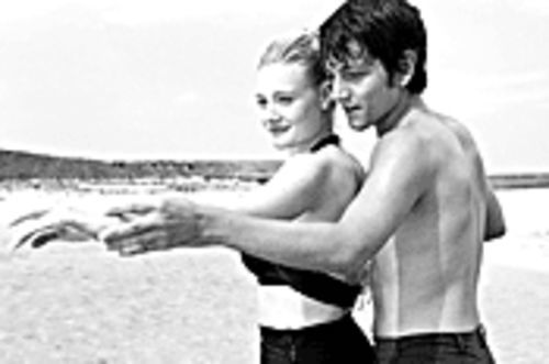 Island hopping: Romola Garai and Diego Luna strut their stuff in Dirty Dancing: Havana Nights.