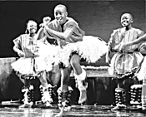 Flash dance: The Children of Uganda dance troupe share stories of their culture.