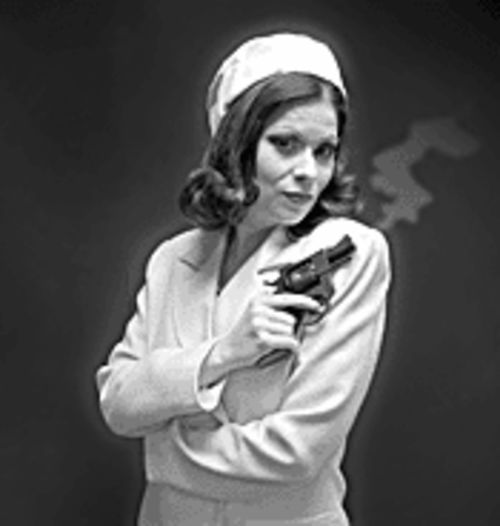 Jennifer Bemis as Jackie-O in The House of  Yes.