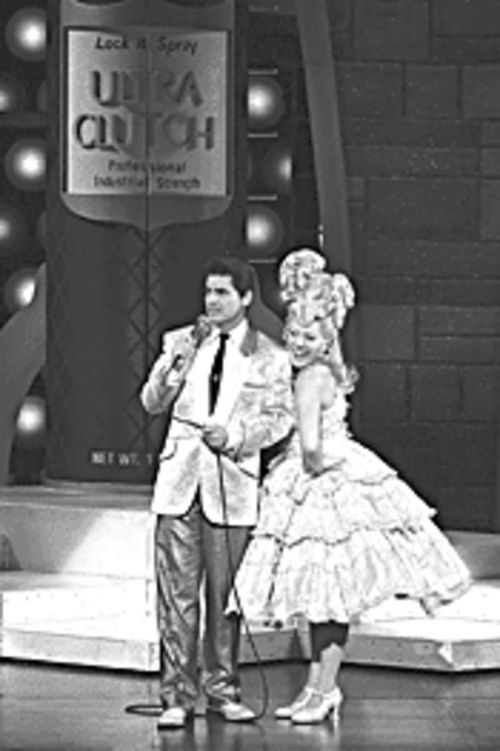 Waters work: Troy Britton Johnson and Jordan Ballard in Hairspray.