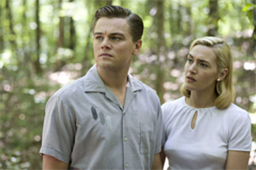 Tip of the iceberg: Leonardo DiCaprio and Kate Winslet are the sort of ordinary people other ordinary people envy in Revolutionary Road.