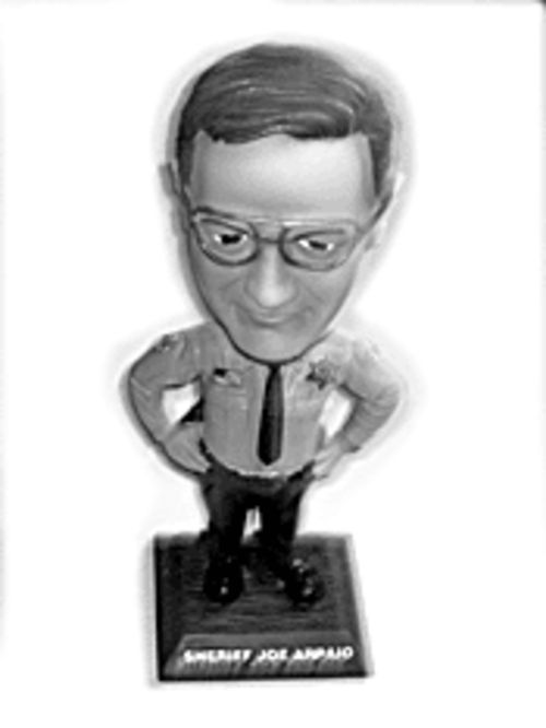 Ka-ching: You can even buy a Joe bobblehead doll.