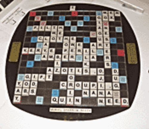 Being too wordy will be a good thing at the One-Day Scrabble Tournament.