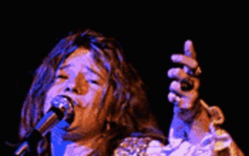 If that train's a-rockin' .  .  .  : Janis Joplin performs as part of Festival Express.