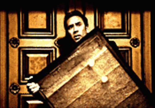 Gone in a little more than 60 seconds: Nicolas Cage discovers that stealing the Declaration of Independence is the only way to protect a National Treasure.