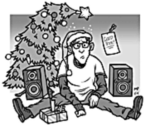 Holy alone: Christmas tunes can bring cheeriness or dreariness.