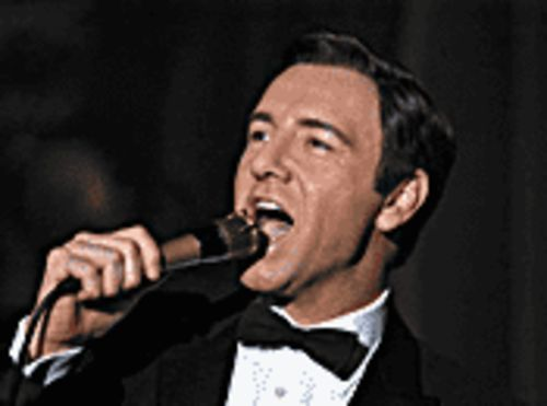 "The ""Mack"" daddy: Kevin Spacey portrays singer Bobby Darin in Beyond the Sea."