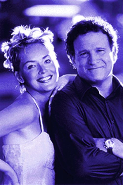 Goddesses and monsters: Sharon Stone and Albert Brooks in The Muse.
