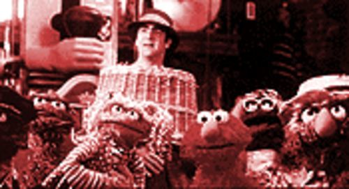 Furry tale: Mandy Patinkin in The Adventures of Elmo in Grouchland.