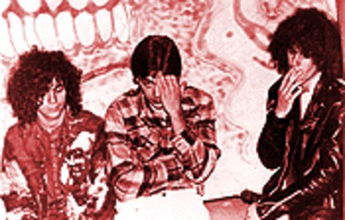 Oh my gawd!: The Flaming Lips during their twisted salad days. From left, Wayne Coyne, Richard English and Mike Ivins.
