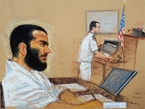 Omar Khadr was 15 and near-death when captured by U.S. forces in Afghanistan in 2002.