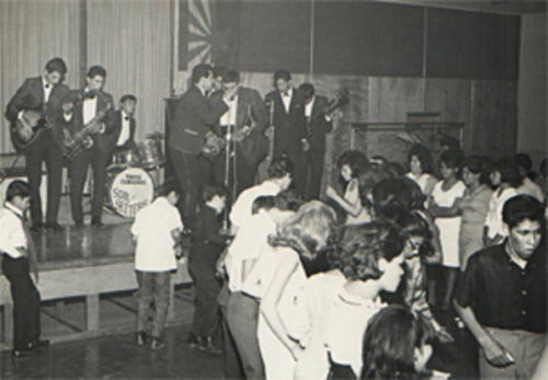 The Soul Setters rock the Calderon Ballroom in 1966.