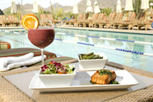 Seeing the light: Sprouts dishes up healthful spa cuisine at Camelback Inn.