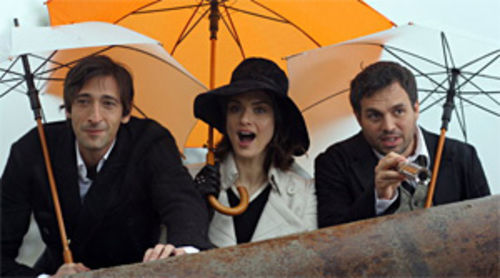Bloomin' beautiful: Adrien Brody, Rachel Weisz, and Mark Ruffalo in The Brothers Bloom.