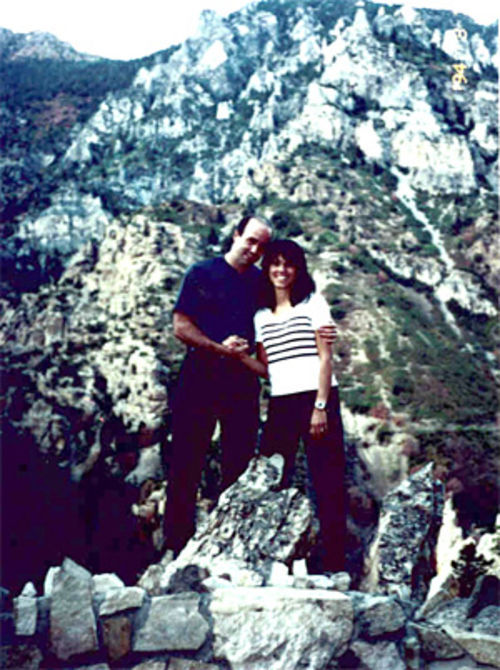 Doug and Faylene Grant on their second honeymoon in Utah, just before her fall.