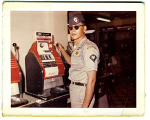 Tony Tercero back in his U.S. Army days, which ended in 1974.