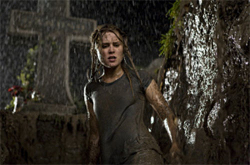 Hell of a ride: Alison Lohman does a lot of screaming in Sam Raimi's return to the horror genre, Drag Me to Hell.