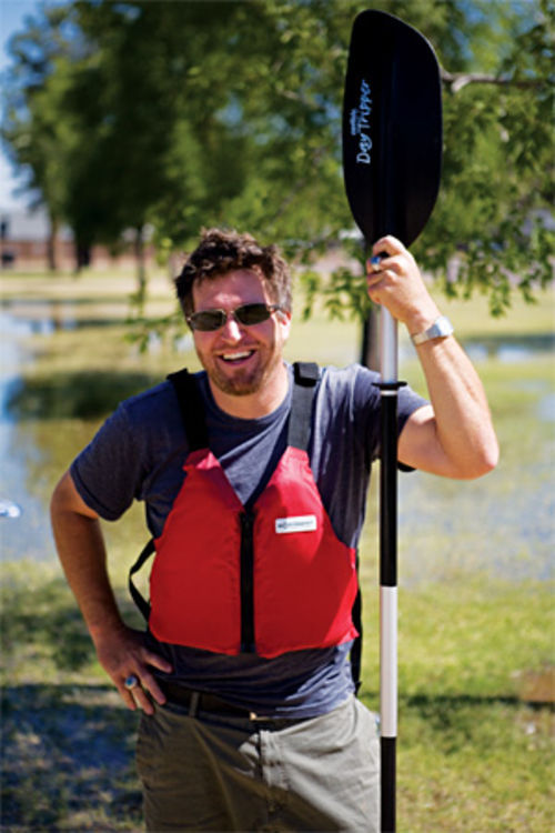 C.M. Redding: King of the kayak.