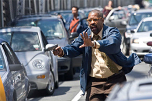 Stop, thief: Denzel Washington plays cat-and-mouse in The Taking of Pelham 1 2 3.