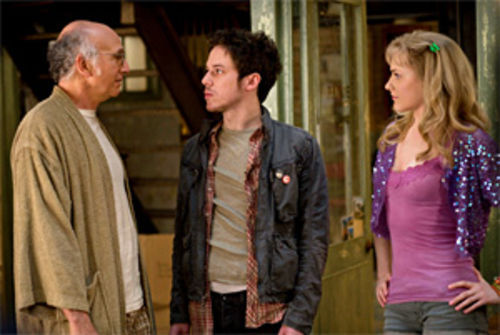 The misfits: Larry David and John Gallagher Jr. in Woody Allen's Whatever Works.