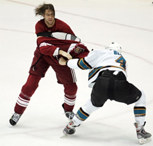 This hockey fight is now in a courtroom.